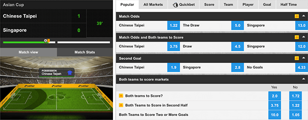 betfair in-play