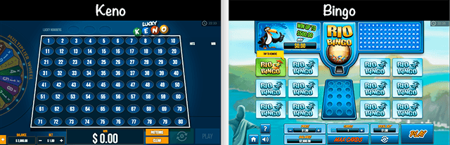 Nairabet Keno and Bingo