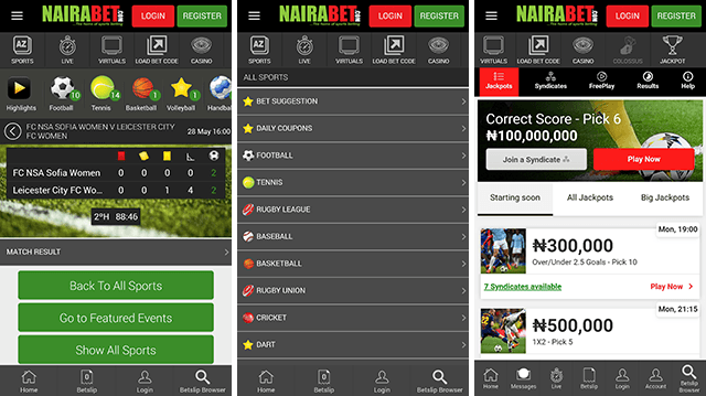 nairabet mobile full version