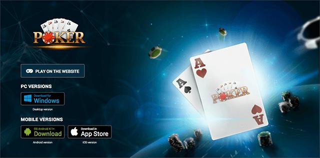 1xbet poker