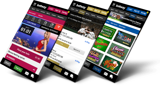 betway mobile betting