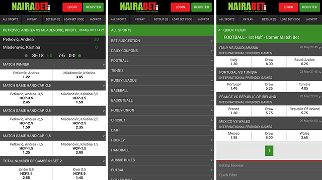 nairabet mobile lite version