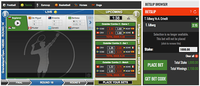 Nairabet virtual sports placing bet