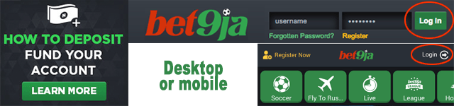 bet9ja register step 1