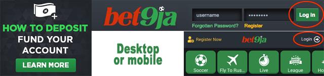 bet9ja register step 1