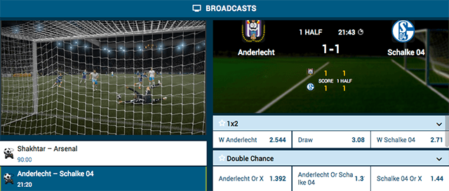 1xbet virtual Fifa game