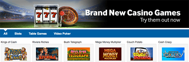 betway casino games