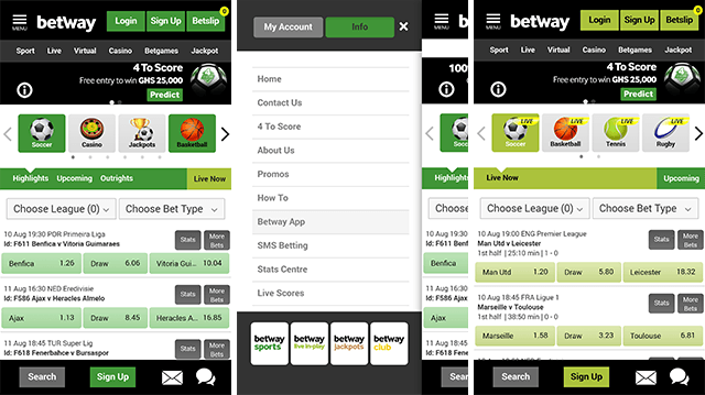 betway mobile version